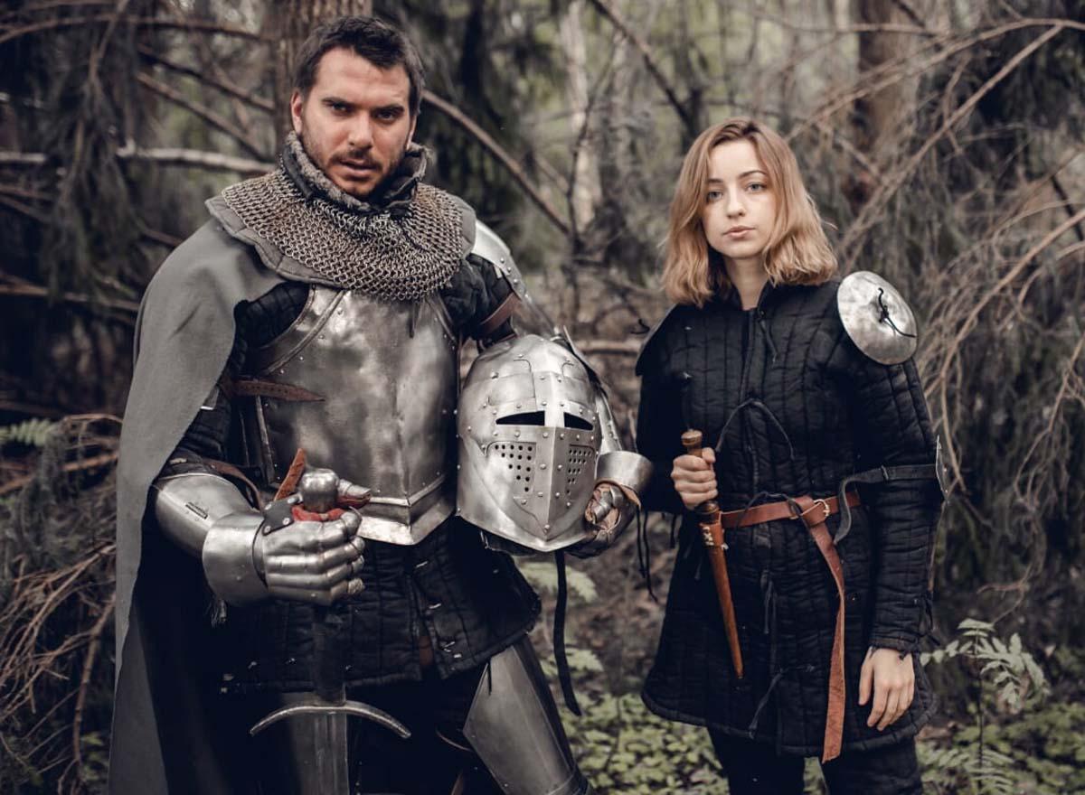 кустарник фотосессия в рыцарских доспехах москва сама